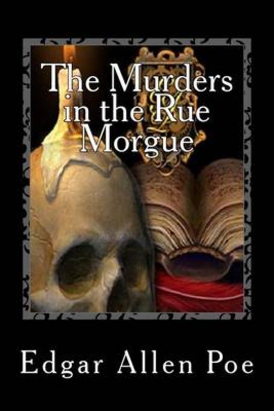 Voorkant boek The Murders in the Rue Morgue